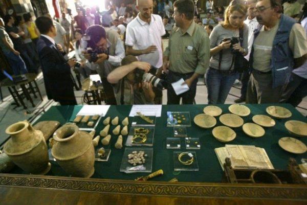Правительство в Музее Дамаска в Сирии