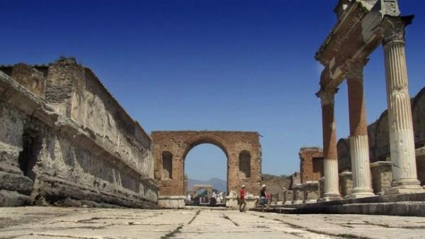 Город древнего Рима Помпеи