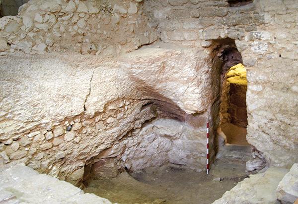 Дом Иисуса в Назарете. Израиль. фото