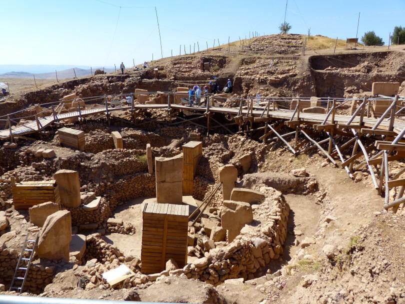 Археологические раскопки в Турции