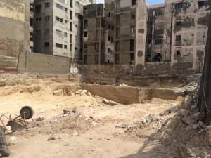 Разрушение театра Рима в Александрии