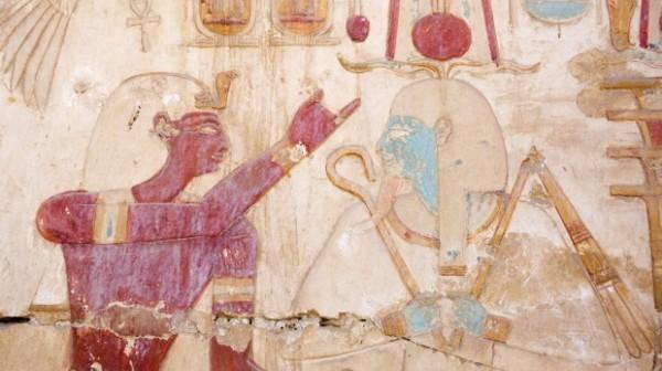 Рисунки с изображением культа Осириса