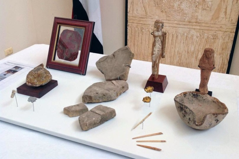 Артефакты Египта, Австралия