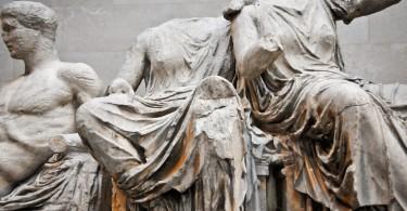 Статуи храма Парфенона