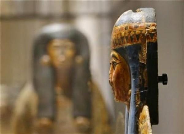 Саркофаг Табакехогсу в Египетском музее Турина, Италия