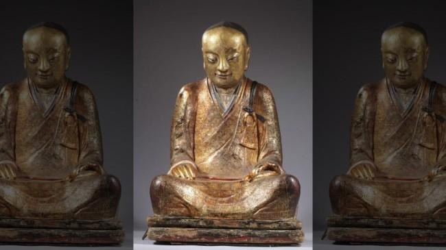 Мумия в статуе Будды