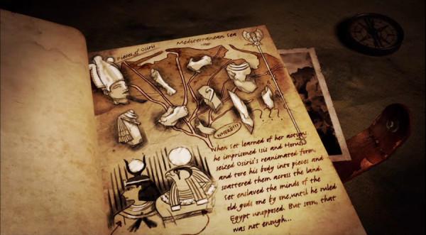 Миф об Осирисе. Современный рисунок