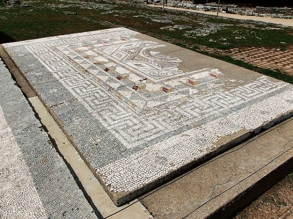 Древние руины Рим. Фото.