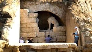 Гробница Амфиполис Греция