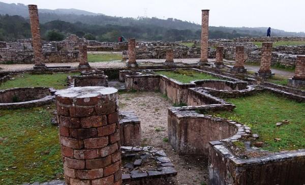 Древние руины Рима. Фото.