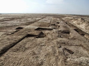 Древняя крепость Египта фото