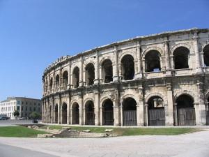 Римский колизей, Ним, Франция