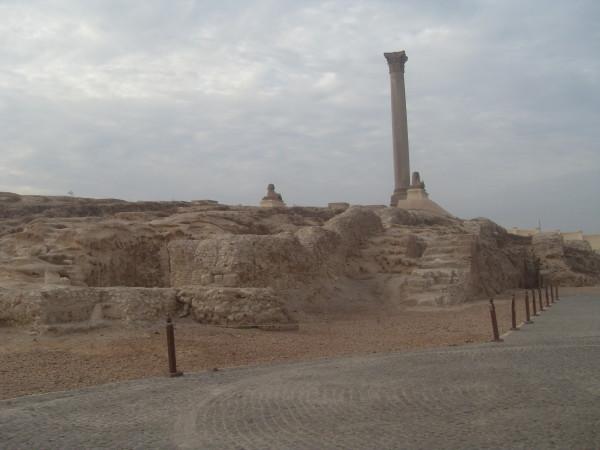 Библиотека Александрии, Древний Египет: фото