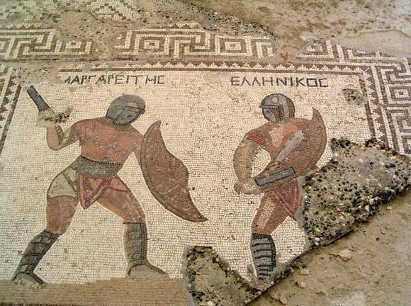 фото гладиаторов +в древнем риме