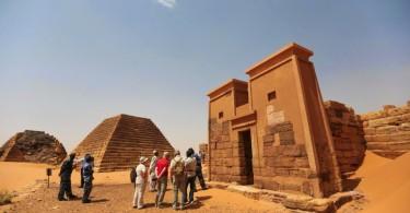 Мероэ, пирамиды Судана