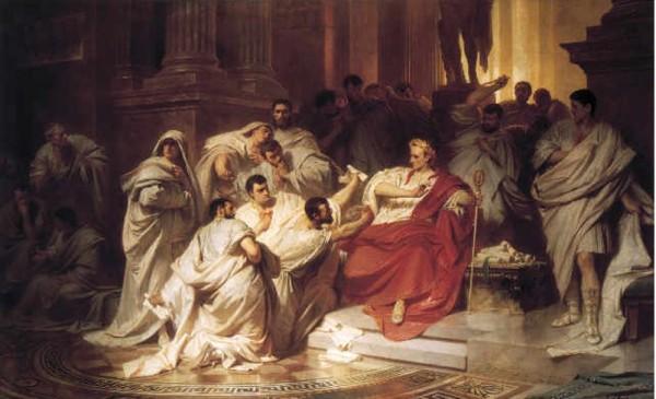 Убийство Цезаря: картинки