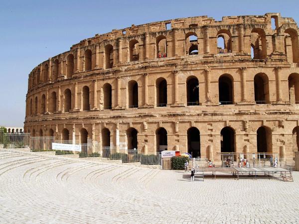 Римский колизей в Тунисе, Эль-Джем