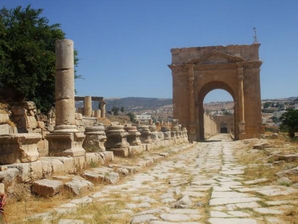 Руины Пелла, Иордания фото