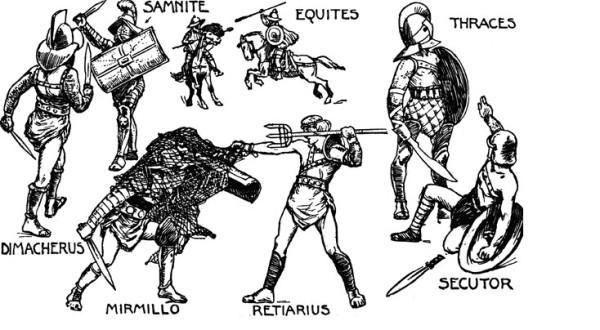 Картинки гладиаторов Древнего Рима