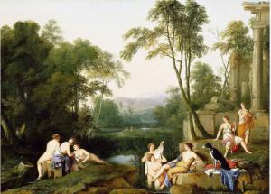 Сады Древнего Рима картинки