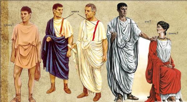 Одежда Древнего Рима картинки
