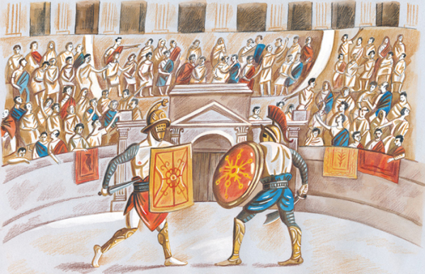 Книги насчёт Древнем Риме чтобы детей