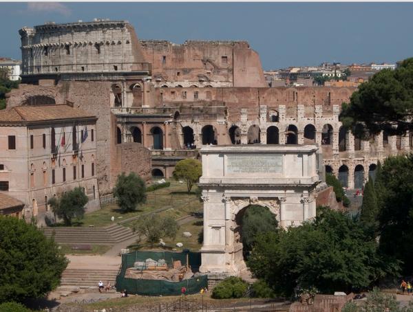 Арка Антония в Риме: фото