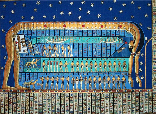 Проявление любви древнего египта