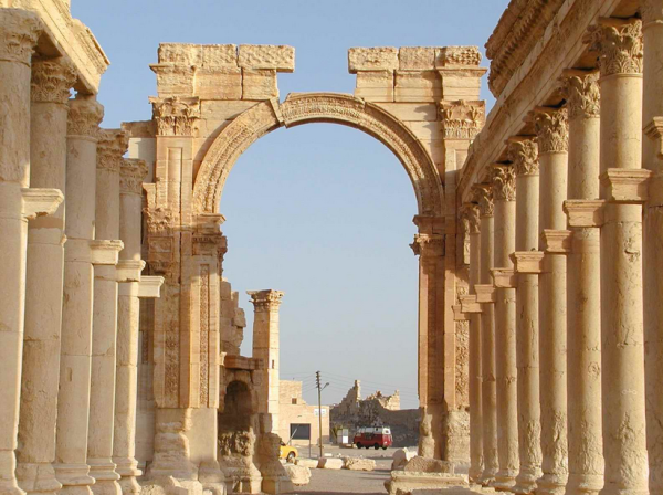 Древний город Пальмира фото