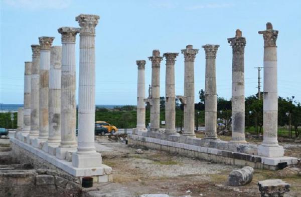 древний город рима турция фото