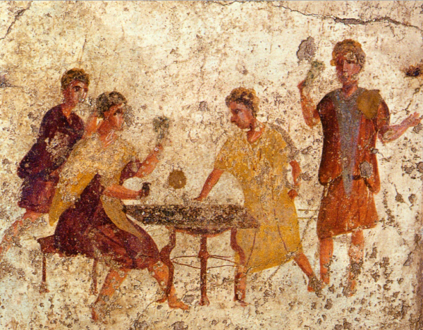 фреска древние помпеи