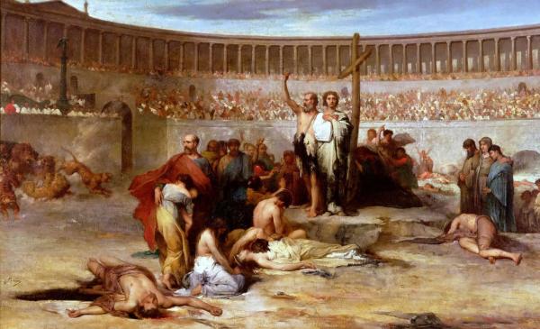 христиане и игры рима