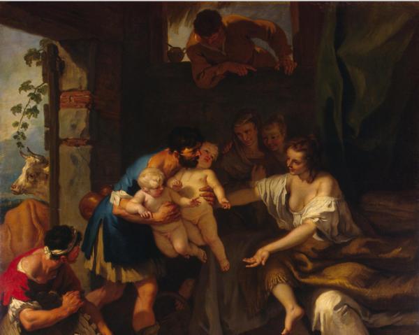 Ленегда об основателях древнего Рима