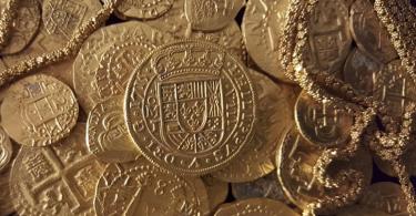 древние золотые монеты фото