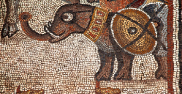 древние мозаики израиль фото