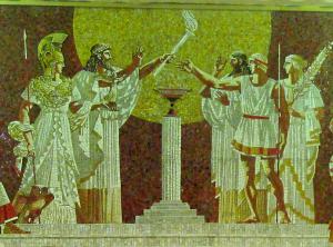игры древней греции олимпиада фото