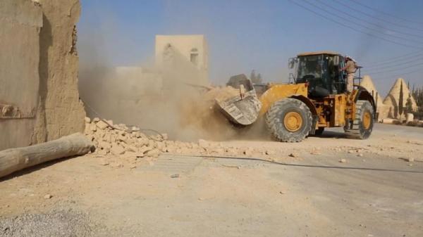 руины древнего рима в сирии фото