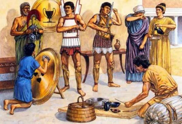 предприятия древнего рима фото