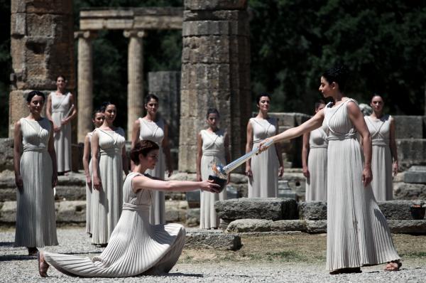 олимпийские игры древней греции фото