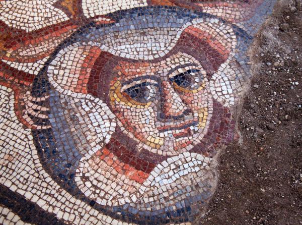 древние мозаики израиля фото