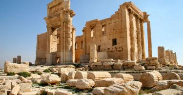 Храм бэла Пальмира Сирия фото