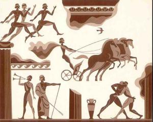 олимпиада древняя греция фото