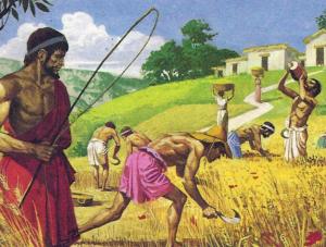 рабы древней греции