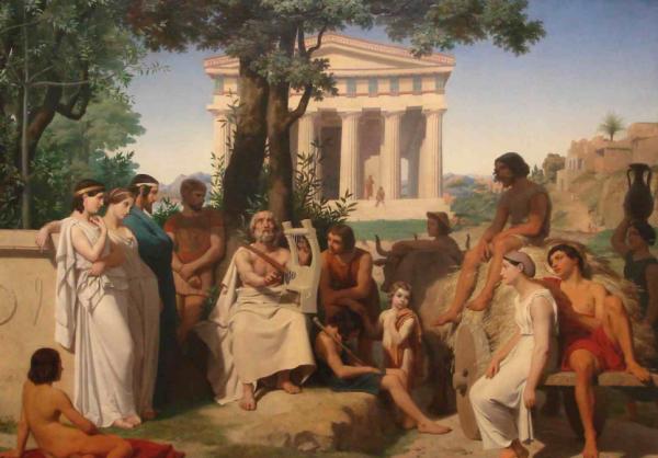 философы греции картинки