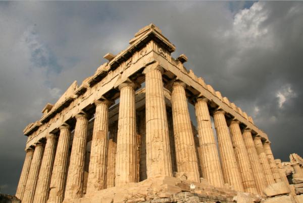 Древние храмы Греции парфенон греция фото