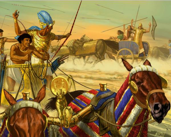 войны древнего египта картинки