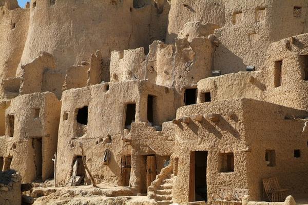 жилища древнего египта фото