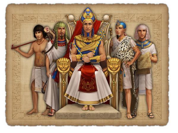 жрецы древнего египта фото