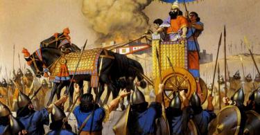 войны ассирии фото