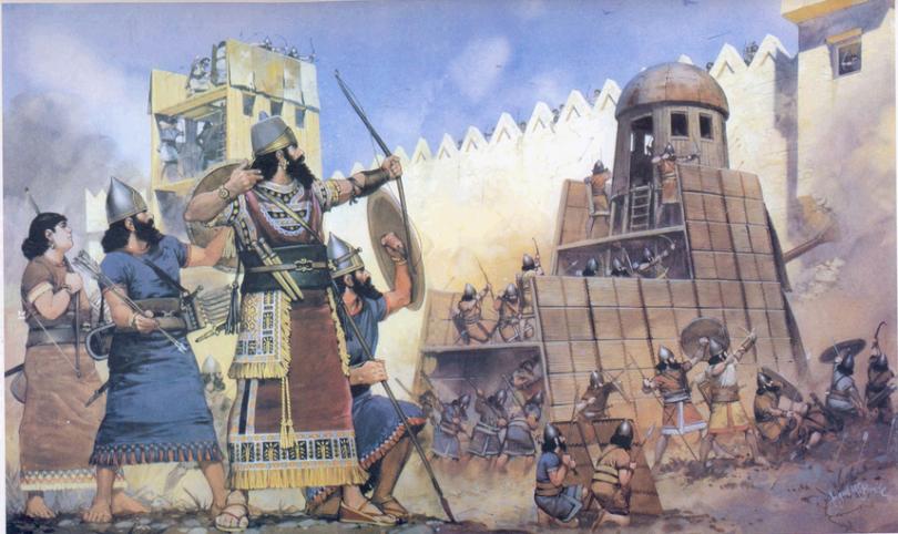 войны древней ассирии фото